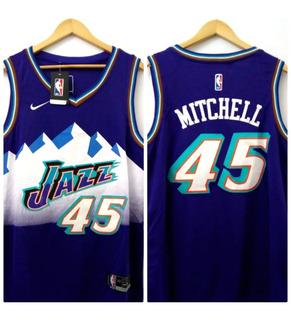 Camisetas Nba. Utah Jazz - Mitchell