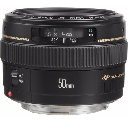 Lente Canon 50mm 1.4 Envio Imediato Até As 13hs