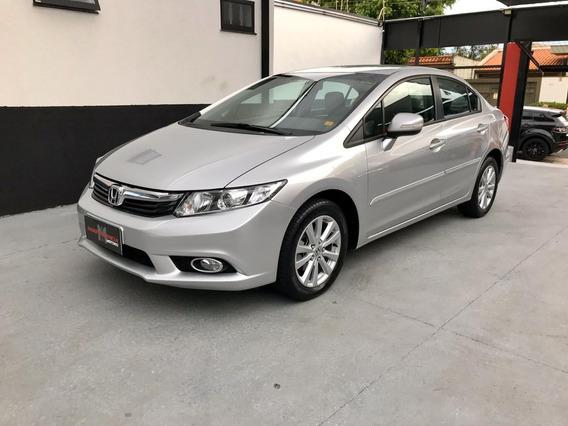 Honda Civic 2.0 Lxr 16v Flex Automático Impecável