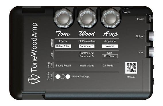 Procesador Guitarra Acustica Tonewood Twamp Fx Unplugged