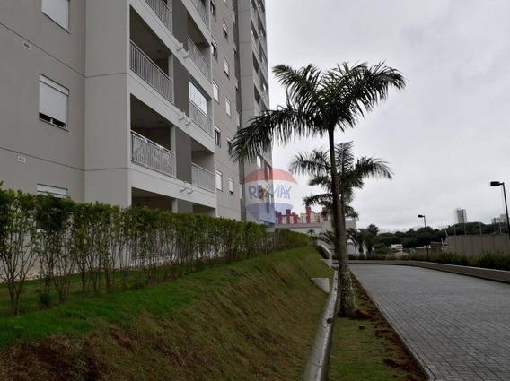 Lindo Apartamento, 02 Dormitórios, Jardim Do Mar,são Bernardo Do Campo - Sacada, Frente, Duas Garagens Fixas, Andar Alto. - Ap3777