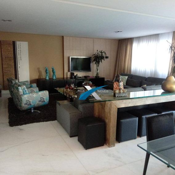 Área Privativa 4 Dormitórios À Venda, 290 M² Por R$ 2.695.000 - Piemonte - Nova Lima/mg - Ap5398