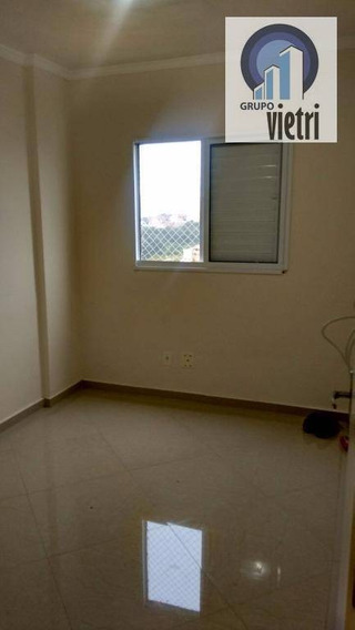 Apartamento Em Barueri Parque Viana Com 2 Dormitórios, Sala Com Sacada, 1 Vaga Lazer Com Piscina Aceita Financiamento Use Fgts - Ap3406