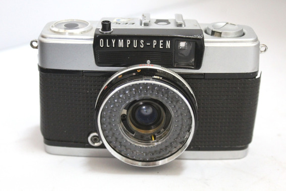 Câmera Fotografica Olympus Pen Retro Coleção Leia O Anuncio