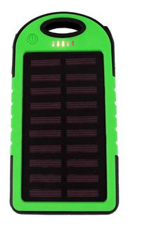 Power Bank 5000mah Bateria Portatil Cargador Solar Para Celular /e
