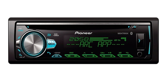Stereo Pioneer Deh-x50bt Audio Car Estereo Bluetooth 101db
