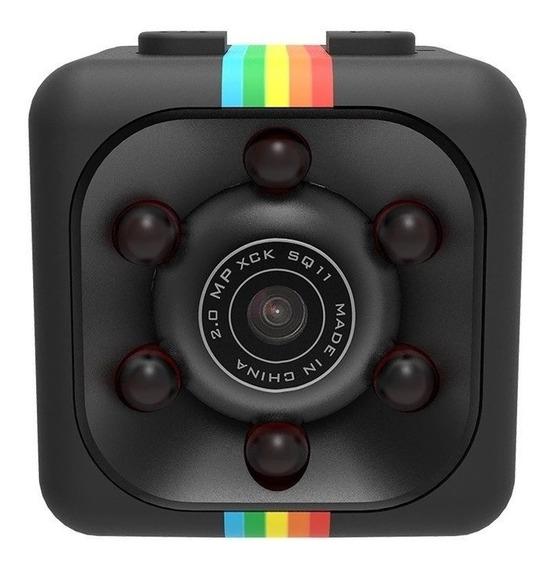 Mini Câmera Espiã E De Ação Quelima Sq11 Promoção
