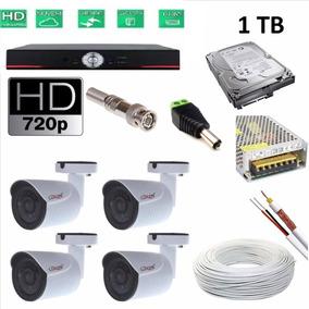 Dvr Ahd 4 Câmeras Tudo Em Hd Instalado Por Apenas R$1.380