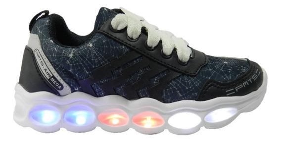 Zapatillas Plumitas Con Luz Y Cargador!! 4007 3666