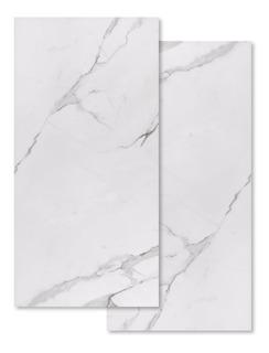 Porcelanato Carrara Blanco Marmol Chapelco Elizabeth 50x101