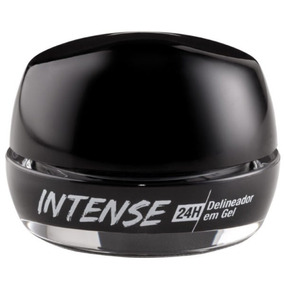 Delineador Em Gel Intense 24h Rk By Kiss - Preto Blackout