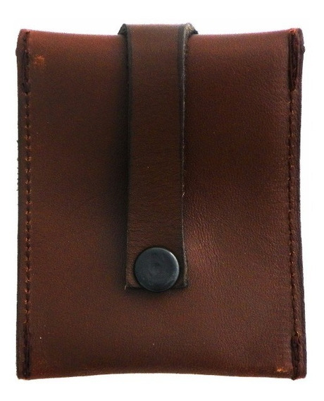 Monedero Amplio Piel Leather