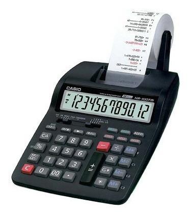 Calculadora Casio Hr 100 12 Dígitos Con Rollo Garantia