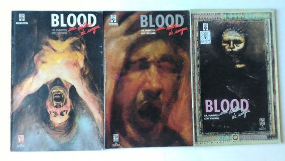 Raríssimo Blood Uma História De Sangue Gibi Hq Quadrinhos