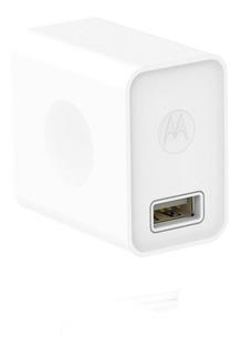 Cargador Carga Rapida Motorola 2a Usb Original Blanco