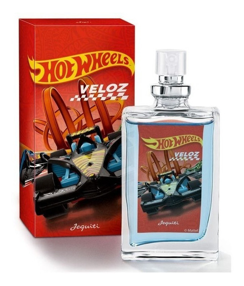 Colônia Hot Wheels Veloz 25ml Jequiti