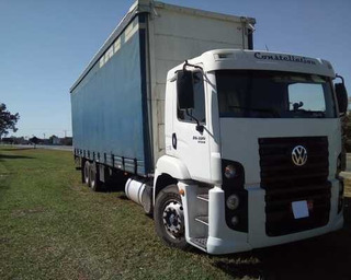 Vw Constellation 25320 6x2 Titan Tractor C/ Baú Sider 2012