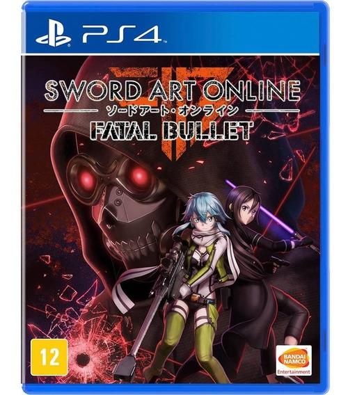 Sword Art Online Fatal Bullet Ps4 Mídia Física Português