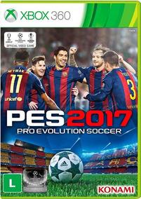 Jogo Pes 2017 Xbox 360 Ntsc Midia Fisica Original