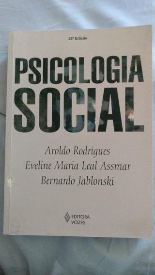 Psicologia Social - Aroldo Rodrigues 28 Ed
