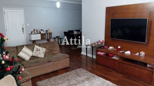 Apto 2 Dorms + Dep. Na Ponta Da Praia, Santos - R$ 510 Mil - V1726