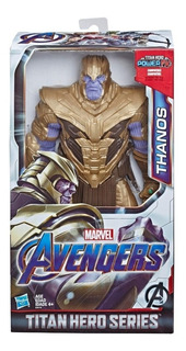 Thanos 30 Cm Muñeco Avengers Titan Hero Power Fx Original