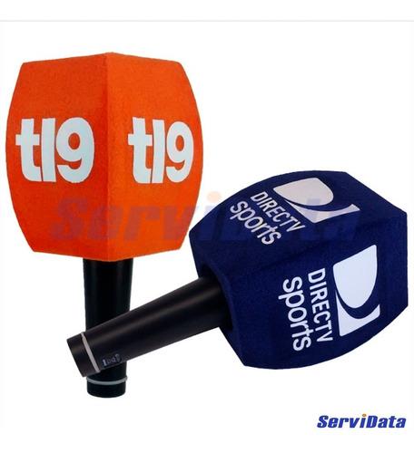 Esponja Paraviento Para Microfono Con Logo