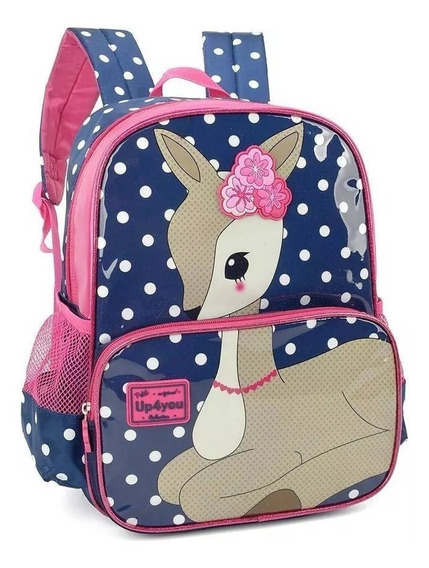Mochila Infantil Juvenil Costas Bambi G Up4you Petit 2019