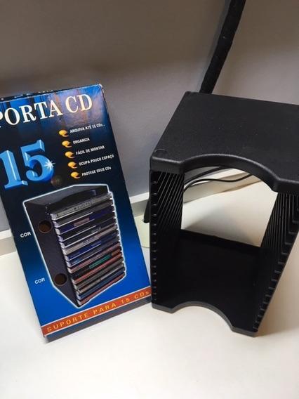 Porta Cd Modular - Capacidade 15 Cds