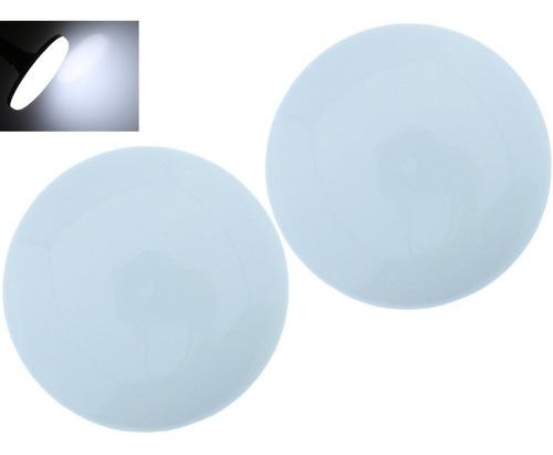 Imagen 1 de 7 de Lampara Sobreponer Led 20w Intercambiable Luz Blanca 2 Pzas
