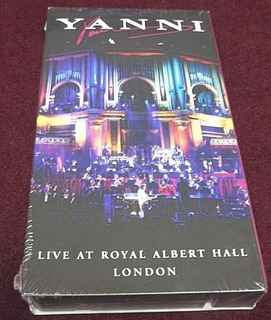 Yanni Live At Royal Albert Hall 1995 Vhs Limited Edition 90