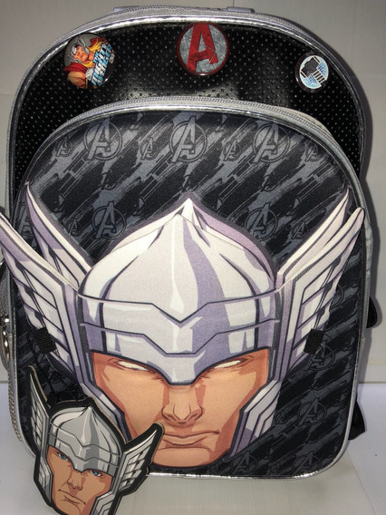 Mochila 16 Espalda Thor Con Máscara Duendesyprincesas
