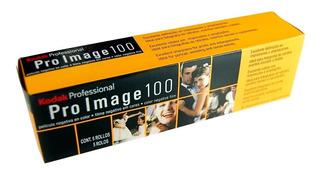 Caja 5 Rollos Kodak Pro Image Color - 36 Fotos - 100 Asa *