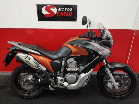 Honda Xl 700v 700 V Transalp 700 Abs 2014 Laranja