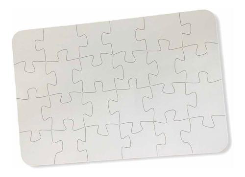 Imagen 1 de 10 de Rompecabezas Sublimable Puzzle Mdf 24x16 Cm 24 Piezas 5 Unid