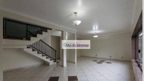 Sobrado Com 4 Dormitórios À Venda, 390 M² Por R$ 1.500.000,00 - Cambuci - São Paulo/sp - So0989