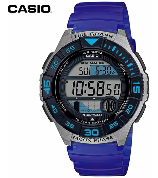 Reloj Casio Vintage Digital Tide Moon Ghiberti