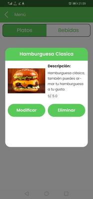 Gestión De Comida Delivery Por App