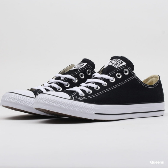 Zapatillas Converse All Star Low Lona Color Negro