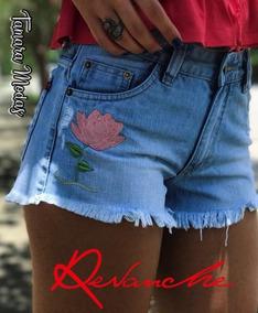 Shorts Jeans Claro Revanche Sem Lycra Tamanho 40 12x S Juros