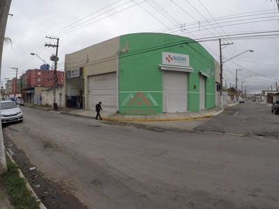 04 Salões Comercial, Com Renda Mensal , Vila Figueira, Suzano. - Ga0014