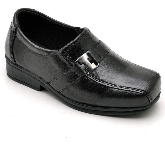 Sapato Social Masculino Infantil Couro Legítimo Ranster
