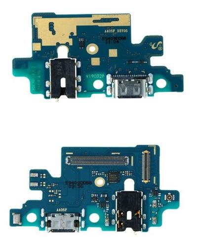 Imagem 1 de 1 de Placa Carga Usb P/ Galax A40 Flex Conector Dock