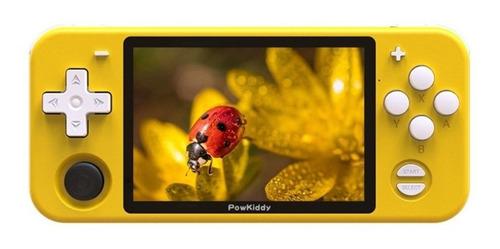 Consola PowKiddy RGB10 32GB amarilla