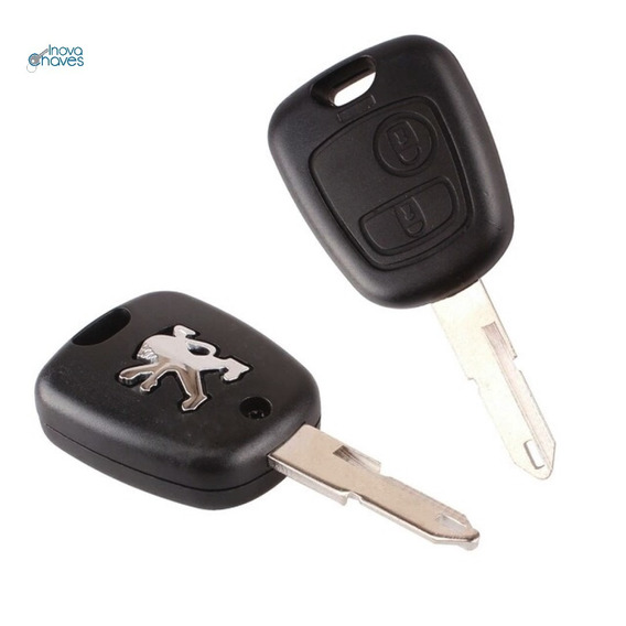 Capa Chave Peugeot 206 207 Completa