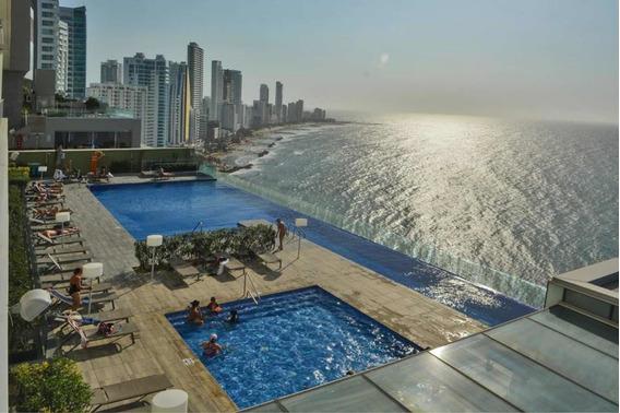 Apartamento Amoblado De Lujo Frente Al Mar Cartagena
