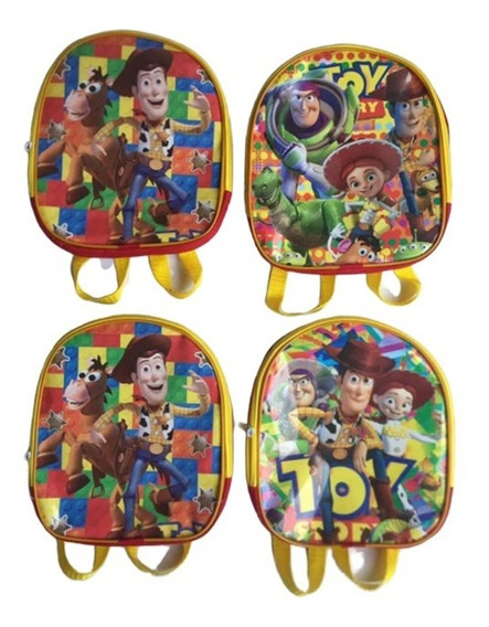 Mochila Dulcero Recuerdo Para Fiestas Toy Story.