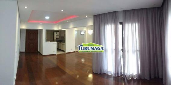 Apartamento Para Alugar, 140 M² Por R$ 2.000,00/mês - Vila Galvão - Guarulhos/sp - Ap0964