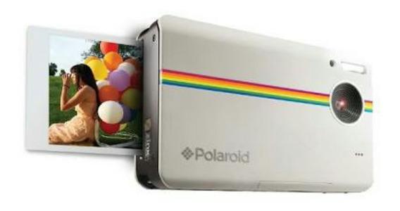 Câmera Digital Com Impressão Instantânea Polaroid Z2300