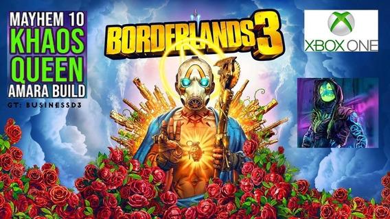 Itens Borderlands Xboxone 3 Build Chaosqueen Mayhen 10 2.0